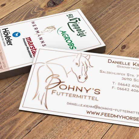 Visitenkarten Bohny's
